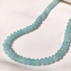 Collar agata blue