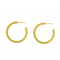 Pendientes Aro Roma Oro