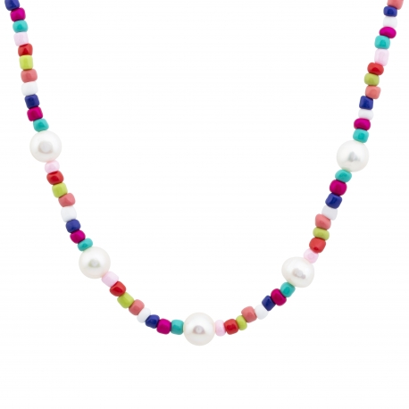 Collar Rainbow Perlas