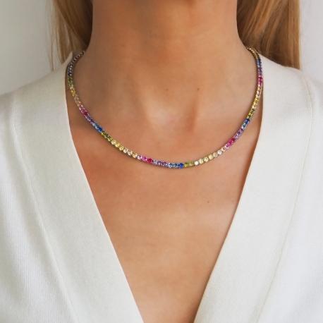 Collar Riviere Colores