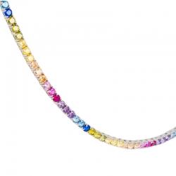 Collar Riviere Arcoiris